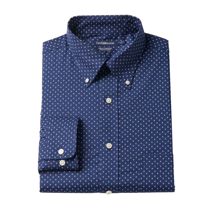 Croft & Barrow Easy-Care True Comfort Regular-Fit Dress Shirt