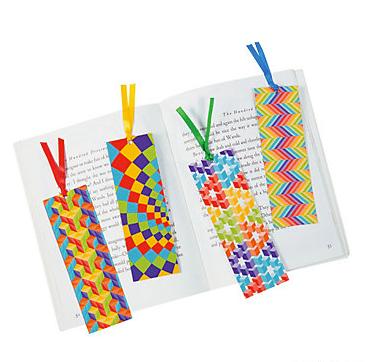 Optical Illusion Bookmarks