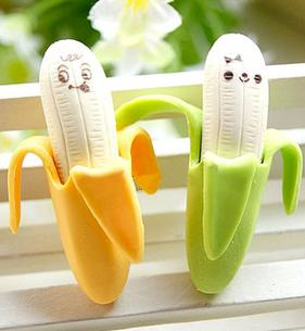 Banana Erasers