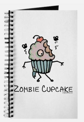 Zombie Cupcake Journal