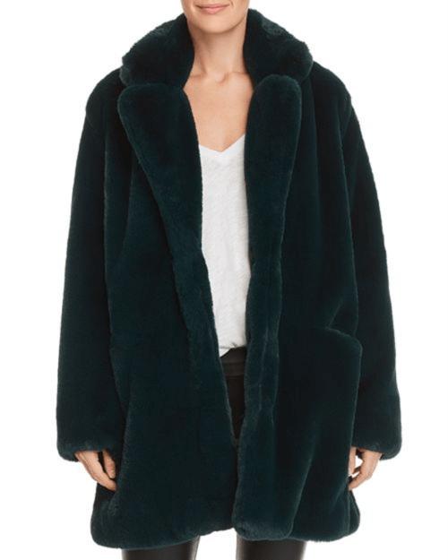 Apparis Sophie Faux-Fur Coat