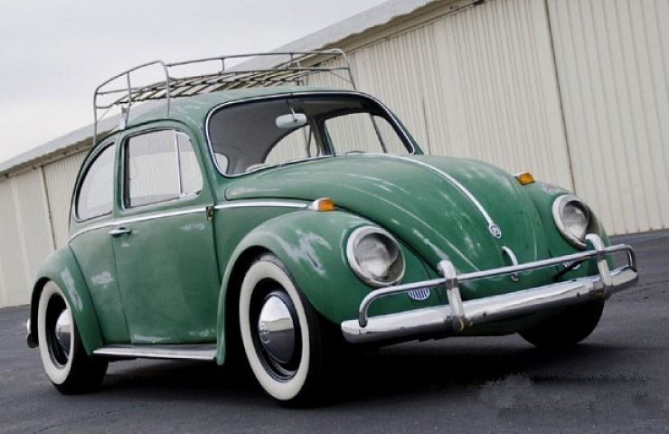 Green Patina  Hip to be Cool Classic Beetle   eBay Motors Blog eBay Listing  1965 VW Beetle Classic