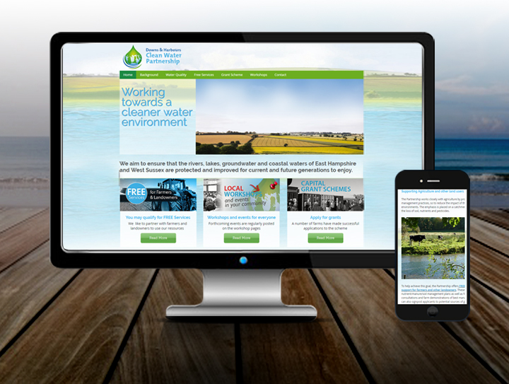 Water Company Website