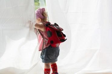 Kleiner Rucksack für Krippenkinder