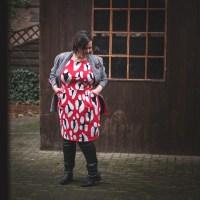 Kleid Schnittmuster für große Größen aus Safari XXL von Albstoffe