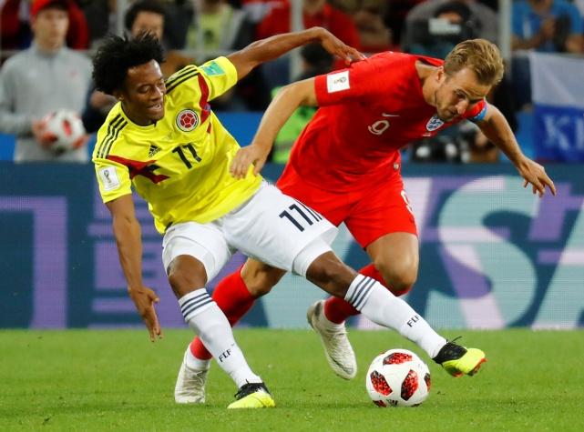 Copa 2018: Inglaterra x Colômbia