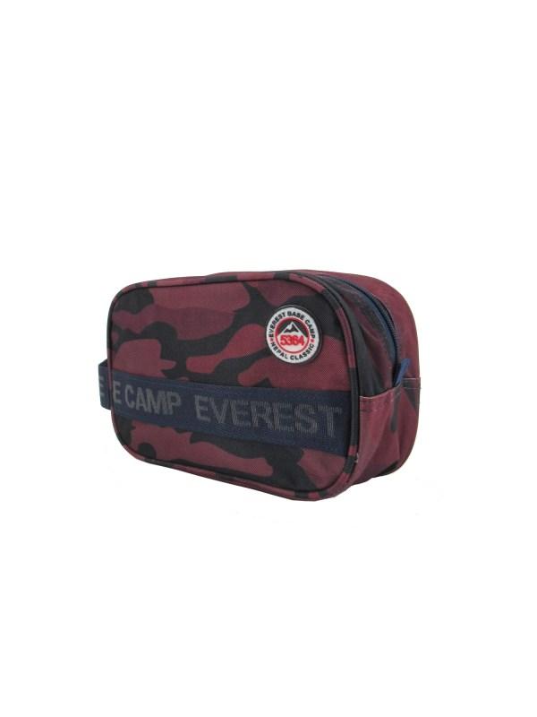 ebc5364 trousse de toilette camouflage rouge - EBC 5364