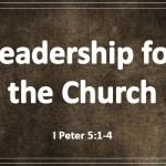 Leadership for the Church