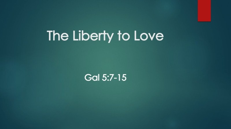 The Liberty to Love