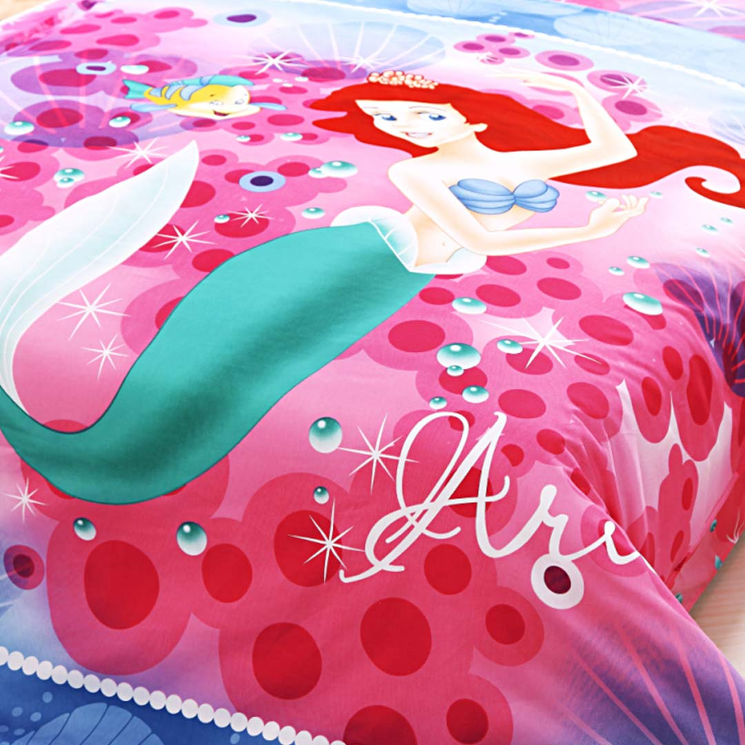 Ariel Princess Bedding Set Twin Size Ebeddingsets