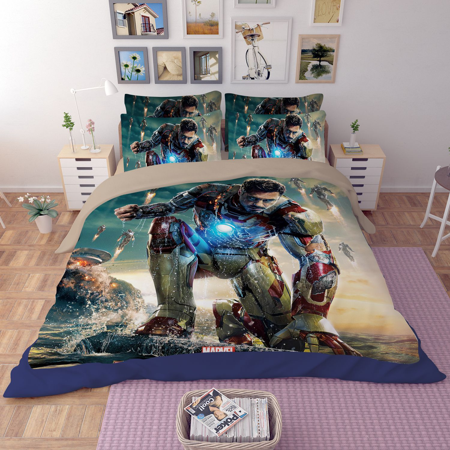 Iron Man 3 Bedding Set Ebeddingsets