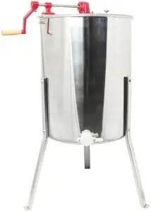 VIVO 4 to 8 Frame Stainless Steel Bee Honey Extractor for Honey Harvesting