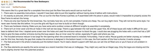 BestEquip Beehive Box Review Testimonial