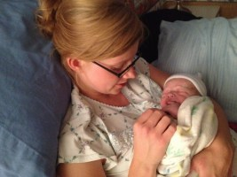Everything went well and our precious son was born at 9:19pm! God is so good! :)