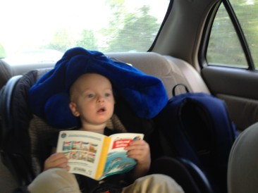 Reading books is much more comfortable with a pillow on your head...