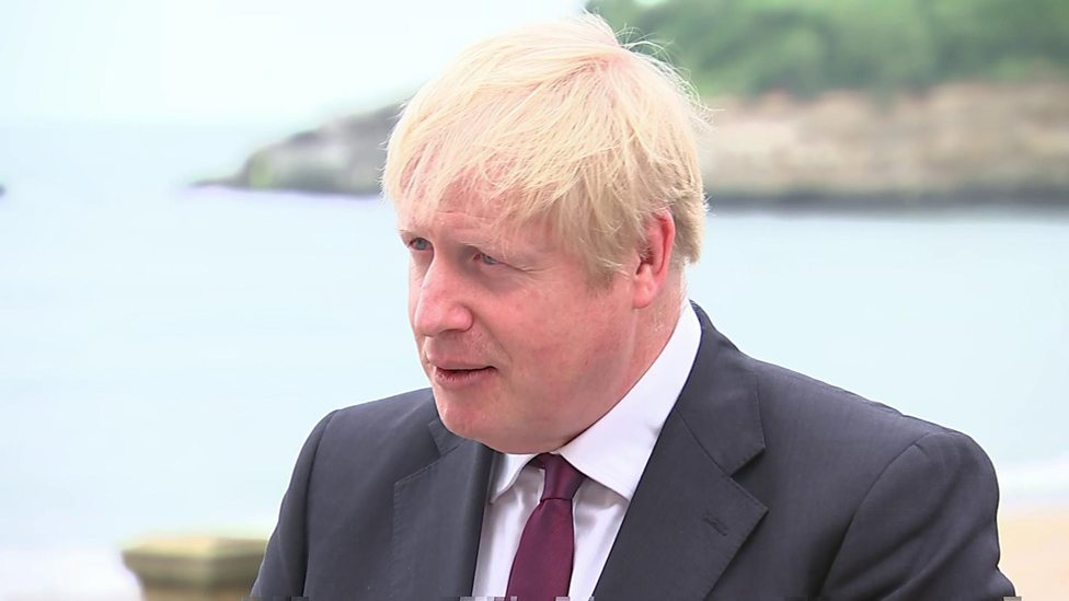 Brexit: Boris Johnson says odds of a striking deal 'touch and go'