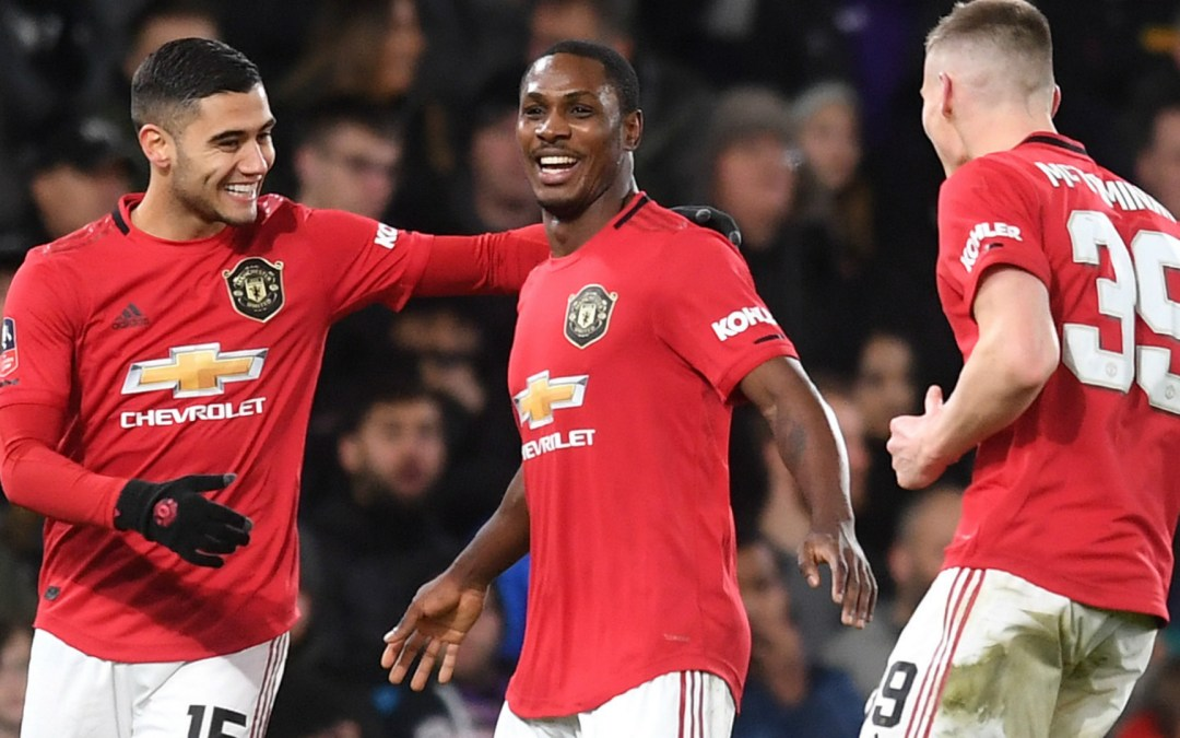 Man United striker Odion Ighalo put up for his very first Manchester United award