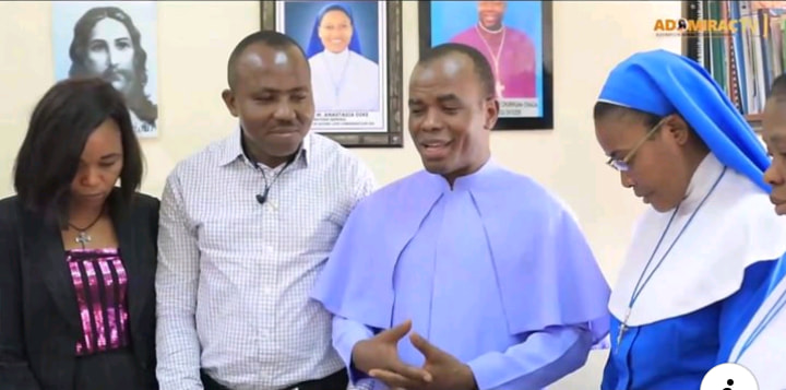 Rev. Fr. Ejike Mbaka clears patients hospital bills of over #18.8 Million at Annunciation hospital