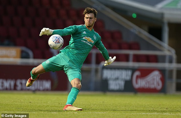Kieran O'Hara Man United keeper was given a six-game ban for biting an opponent