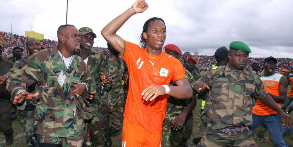 How Drogba stopped a civil war in Ivory Coast