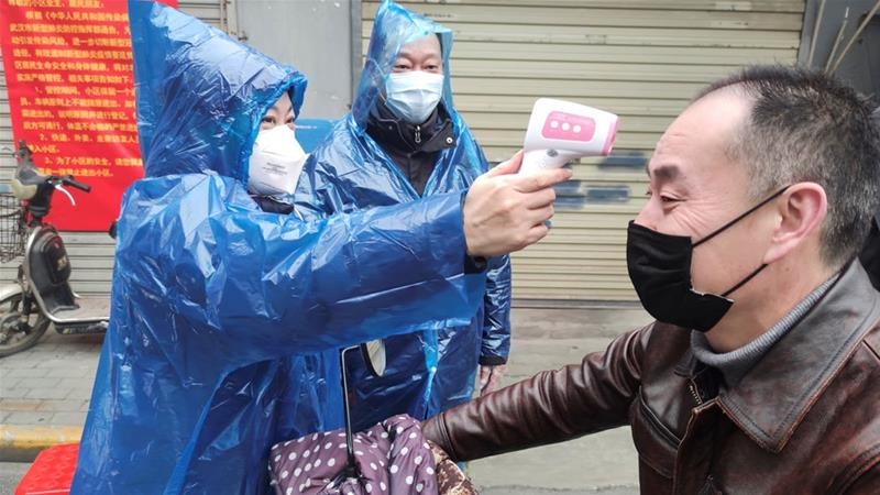 China reports a double rise in new  cases of coronavirus in 10 days