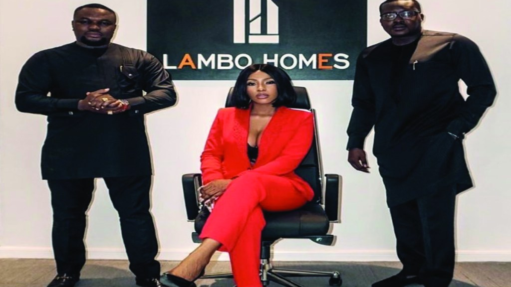 Mercy Eke float her own real estate company, Lambo Homes (video)