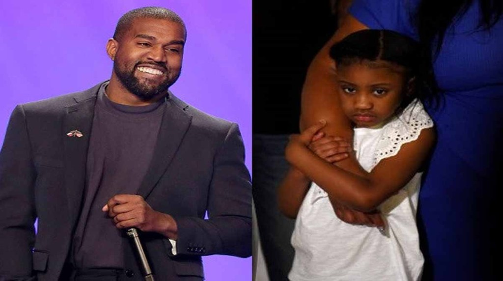 Popular American rapper turn born again Christian Kanye West donates $2million, sets up a college fund for George Floyd's six-year-old daughter