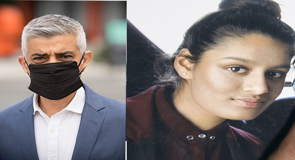 Mayor of London Sadiq Khan criticizes Home Office appeal to stop Shamima Begum returning to the UK
