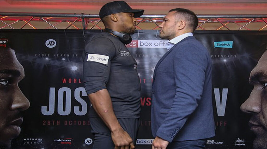 Bulgarian boxer, Kubrat Pulev accused 0f racism over comment he made about Anthony Joshua's skin colour ahead of their fight in December