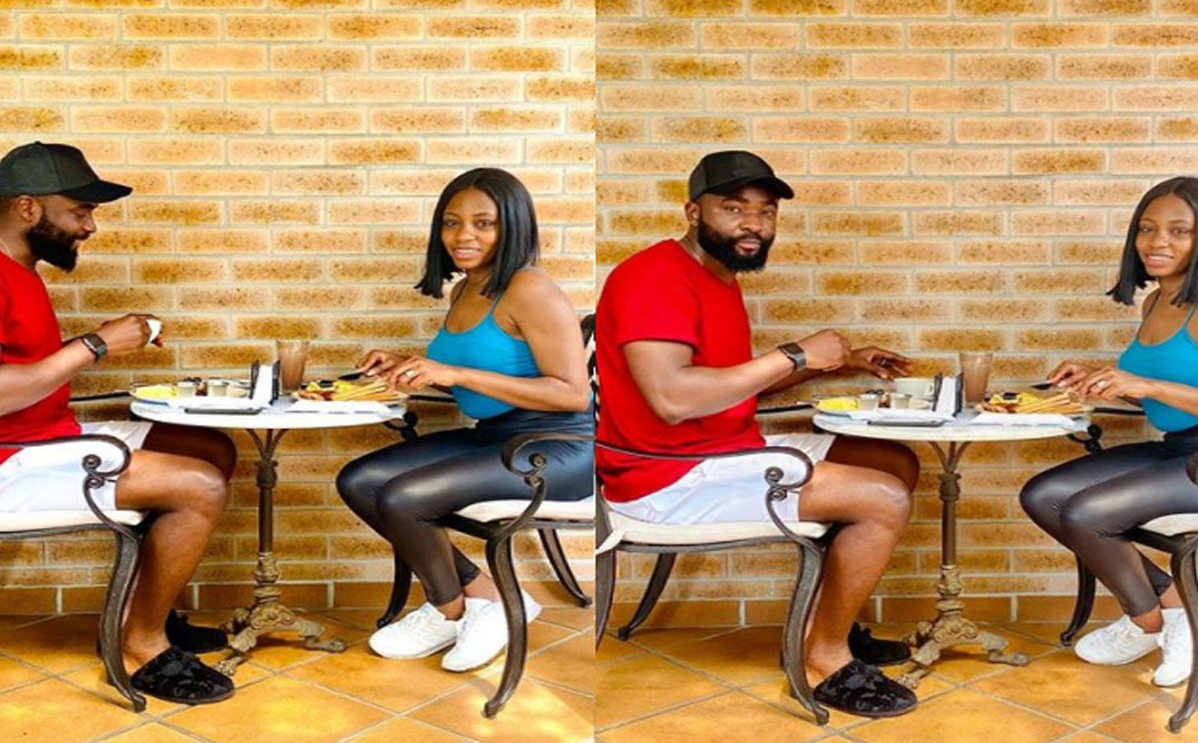 Lovely new photos of the couple to be Gedoni and Khafi enjoying breakfast together in the UK