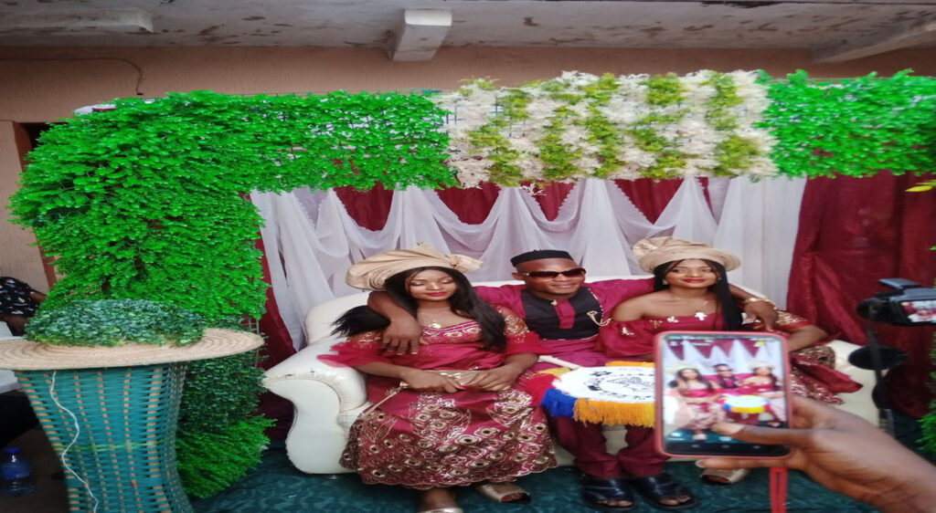 A Nigerian man marries twins sisters because they can't live without each other