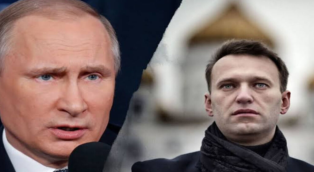 Alexey Navalny Russian opposition leader immediately arrested on return to Moscow 5 months after being allegedly poisoned by the government, tried killing him by poisoning him with the lethal nerve agent Novichok.