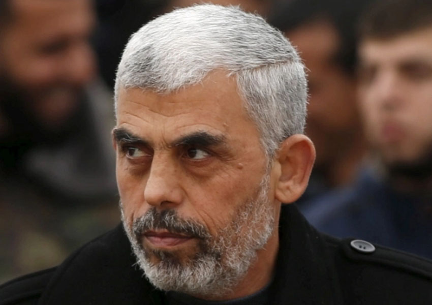 Yahya Sinwar Hamas leader says the group won't touch Gaza reconstruction aid after the US pledged aid for Gaza