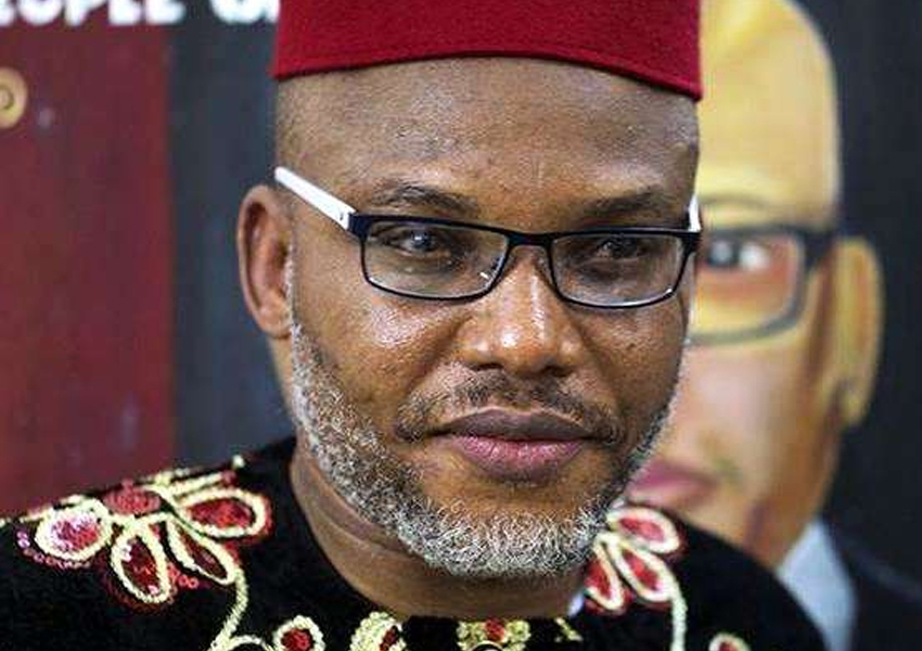 Kingsley Kanu, a sibling of Nnamdi Kanu, leader of the Indigenous People of Biafra (IPOB), says his brother was arrested in Kenya