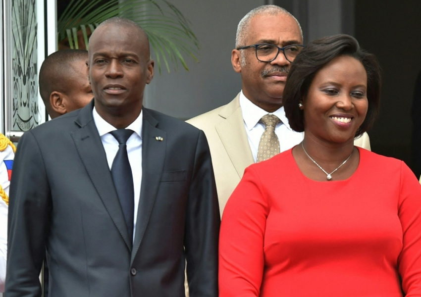 Martine Moise, who was critically injured in the attack that killed her husband, calls on Haiti not to 'lose its way'