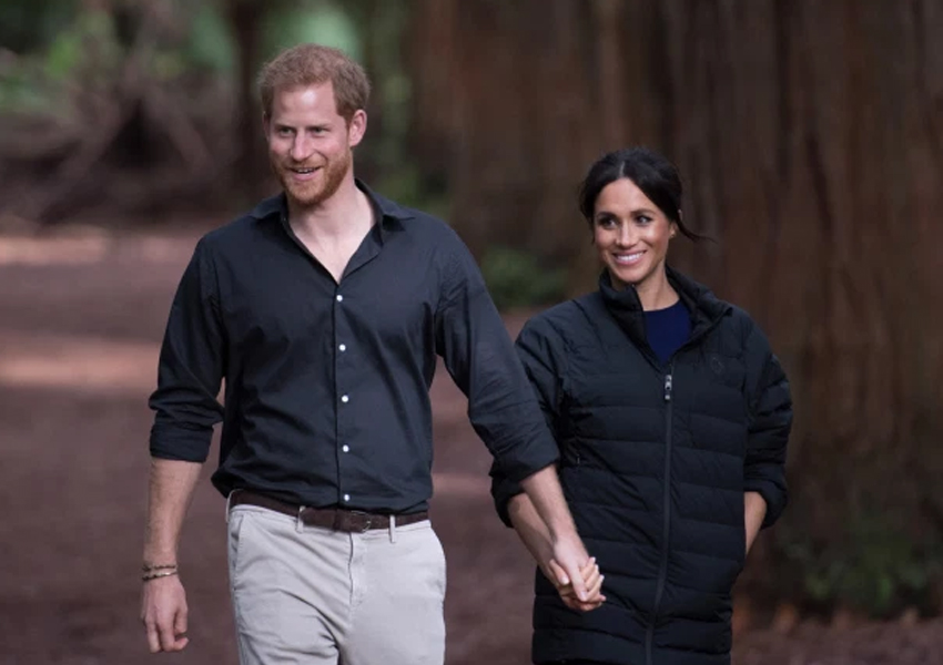 Harry and Meghan spoke about moving to New Zealand less than six months into their life as a working royal couple