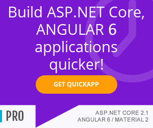 Build ASP.NET Core 2.1, Angular6 applications quicker - www.ebenmonney.com
