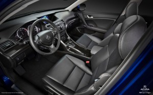 Acura TSX sport wagon interior 2011