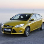 Ford Focus 2013 yellow