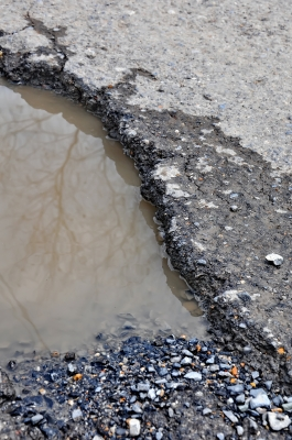 UK Potholes problem
