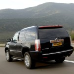 Cadillac Escalade rear view