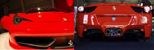 Ferrari 458 Spider Design