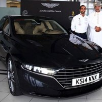 Aston Martin Recreates Lagonda as It Reaches Oman for Testing