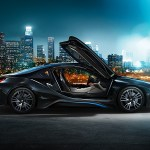 bmw i8 doors open