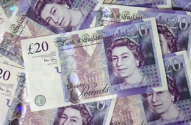 20 pound bill