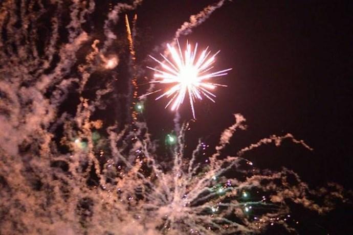 Fireworks-exploding