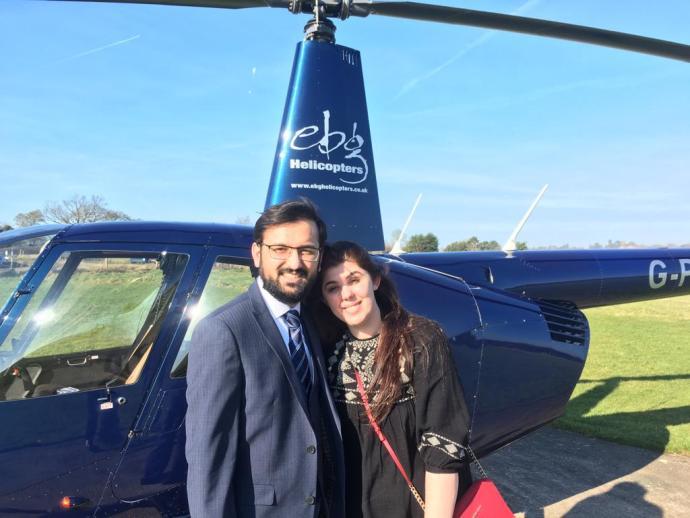 We got one! Muhammed and Ledia engaged today