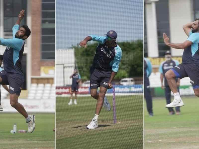 इंग्लैंड टेस्ट सीरीज से पहले भारतीय गेंदबाजों ने नेट्स में खूब पसीना बहाया: तस्वीरें देखें |  क्रिकेट