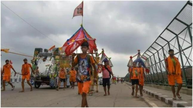 योगी आदित्यनाथ सरकार को सुप्रीम कोर्ट की चेतावनी के एक दिन बाद यूपी में कांवर यात्रा रद्द