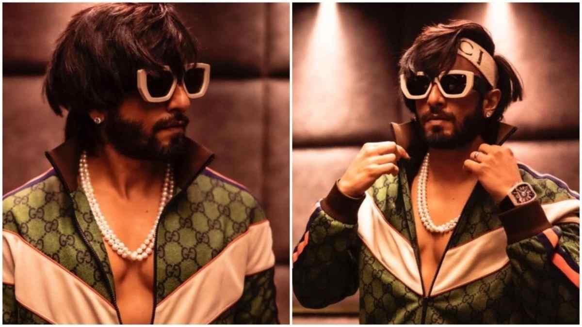 रणवीर सिंह ने दिखाया मोतियों का हार, गुच्ची का अजीबोगरीब पहनावा, फैन ने कहा 'पीजे देखने के पीजे'    बॉलीवुड
